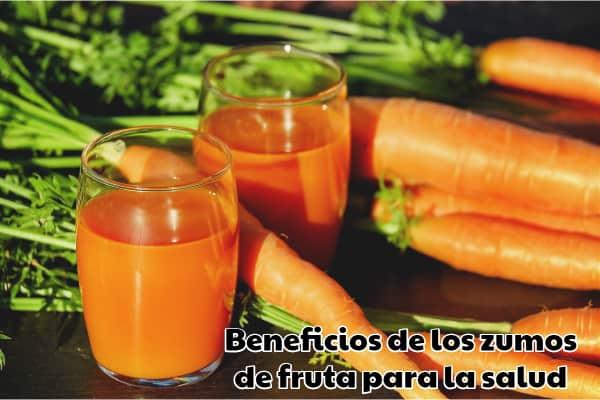 Beneficios de los zumos de fruta para la salud