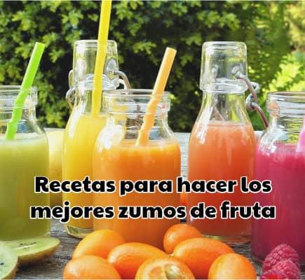 Recetas para hacer los mejores zumos de fruta