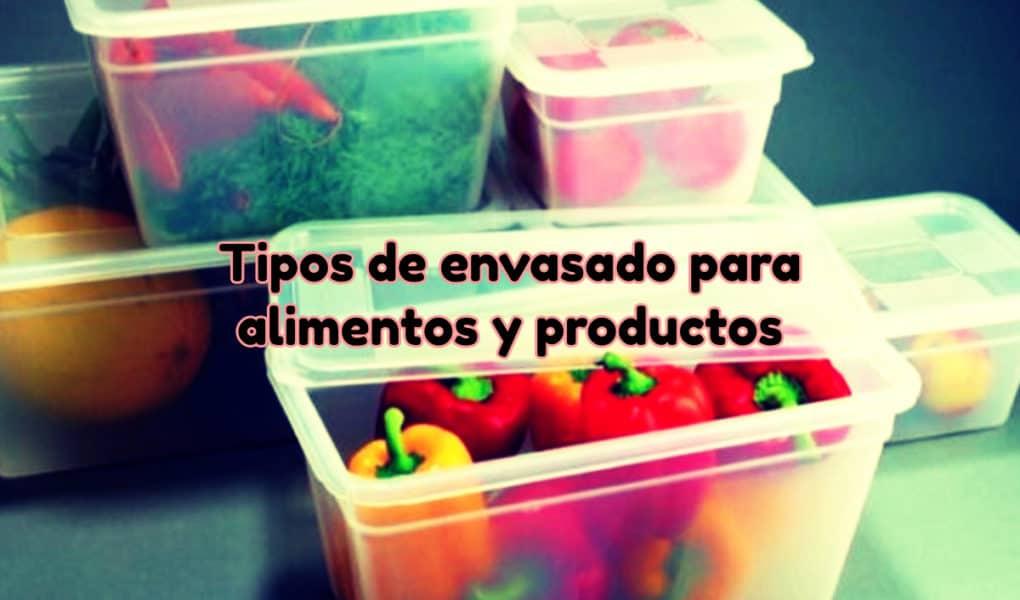 Envasado para alimentos y productos