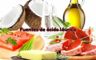 Fuentes de ácido laúrico