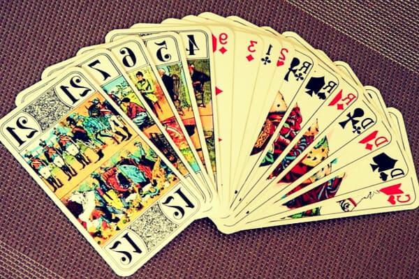 Cartas de tarot abiertas