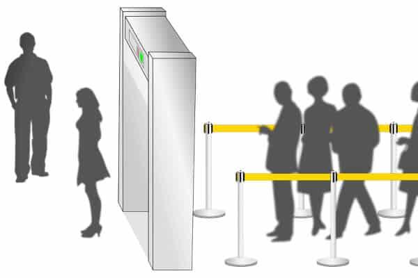 Control de metales en aeropuerto
