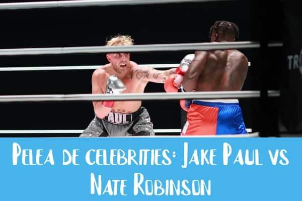Jake-Paul-y-Nate-Robinson-en-combate